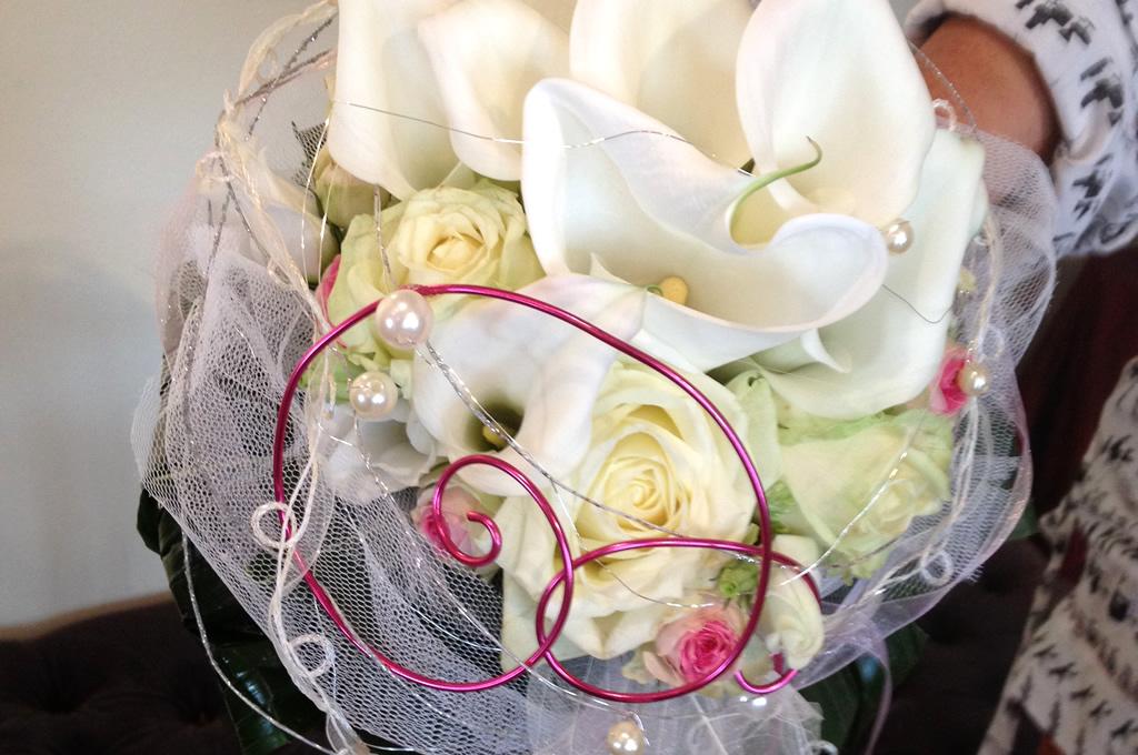 Brautstrauß in Weiss